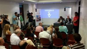 Conferenza stampa cocorico crespi de meis