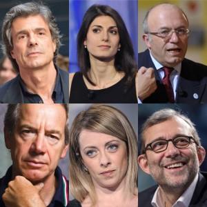 Candidati Roma a confronto