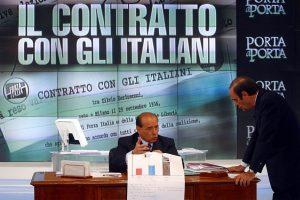 contratto con gli italiani crespi berlusconi
